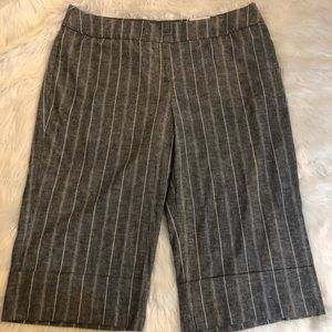 NWT Lane Bryant size 26 linen blend crop pants